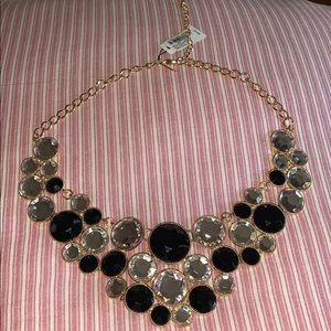 Black, Silver, and Gold necklace from Macy's